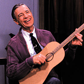 Fred Rogers and guitar