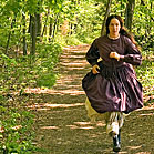 "Elizabeth Marvel as Louisa May Alcott for ""American Masters"""