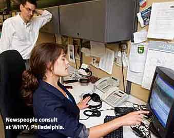 Newsroom, WHYY, Philadelphia