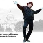 Tony Lepore, dancing cop extraordinare and public access standout.