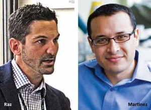 Guy Raz and Matt Martinez