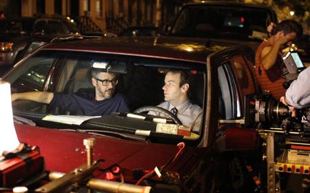 Ira Glass and Mike Birbiglia.
