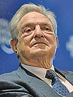 Philanthropist Soros. (Photo: World Economic Forum.)