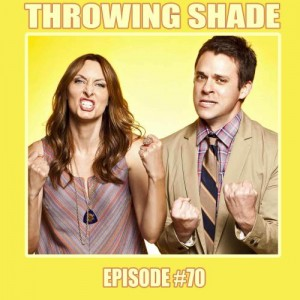 """Throwing Shade,"" with Erin Gibson and Bryan Safi, is one of the few podcasts co-hosted by a woman. (Photo: Maximum Fun)"