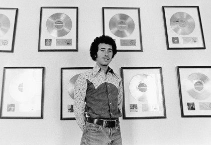 "Geffen, pictured in 1972, was flattered to be profiled by American Masters, but Lacy warned him going in that it ""wouldn't be a valentine."" (Photo: Joel Bernstein)"