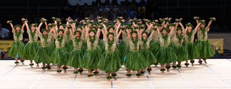 An episode of Pacific Heartbeat, a series co-produced for the World channel by Pacific Islanders in Communications, showcases a four-day festival of Hula dancing. (Photo: American Public Television)