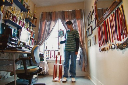 Alexis Paredes is one of the chess champions in Brooklyn Castle, a documentary on POV. (Photo: POV)