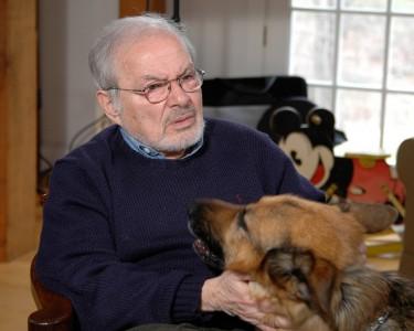 Author Maurice Sendak in his Connecticut home in 2006. (Photo: James Nicoloro)