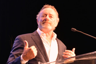In his first major appearance as NPR c.e.o., Mohn plays up his radio credentials in a keynote speech to the Public Media Development and Marketing Conference in Denver.