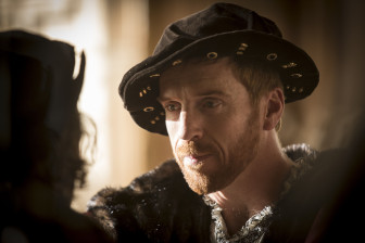 "To portray well-known historical figures such as King Henry VIII, played by Damian Lewis, director Peter Kosminsky tried ""to give the feeling that the characters don't know their own history. They are living in the present tense."" (Photo: Ed Miller, Playground & Co. Pictures)"