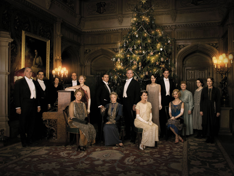 The final season of Downton Abbey will end next year with its traditional Christmas special. (Photo: Nick Briggs, Carnival Films)
