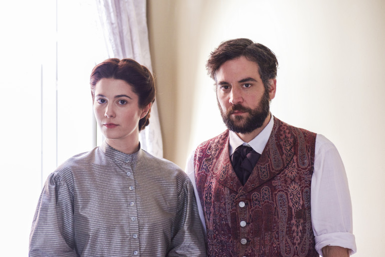 Mary Elizabeth Winstead and Josh Radnor star in Mercy Street, PBS's first scripted drama in a decade. (Photo: PBS)