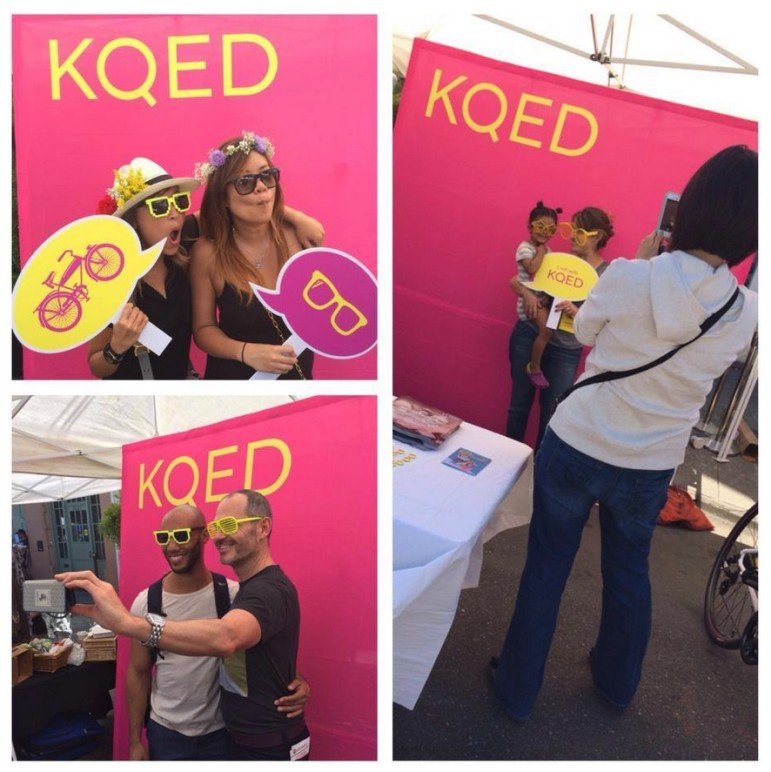 KQED booth
