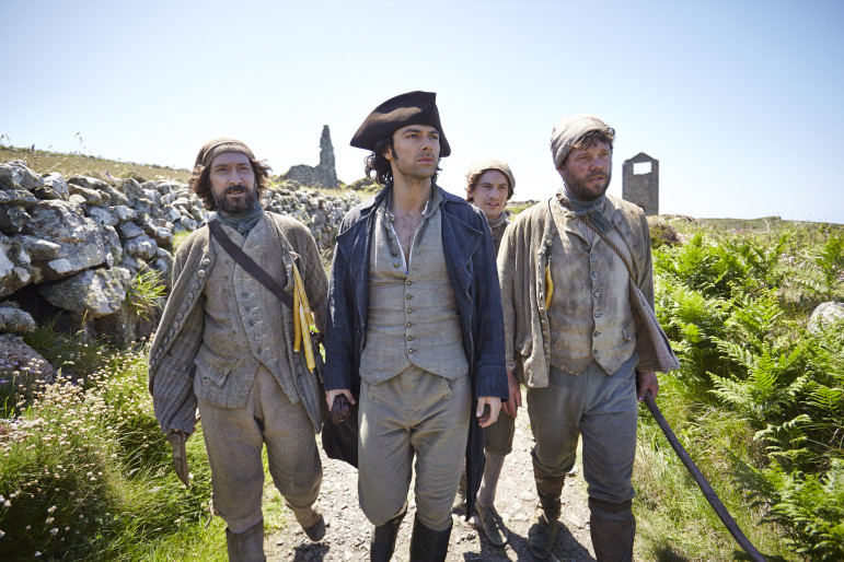 Aidan Turner stars in the upcoming Masterpiece presentation of Poldark, which follows a British Army officer returning home after the American Revolutionary War. The drama is one offering from PBS in a new deal with Xfinity On Demand. (Photo: Robert Viglasky, Mammoth Screen)