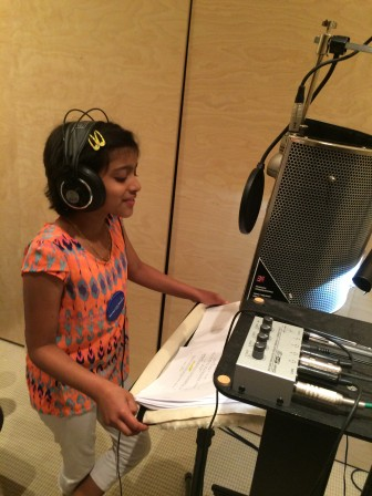 Trisha voices the character of Oona. (Photo: WNET)