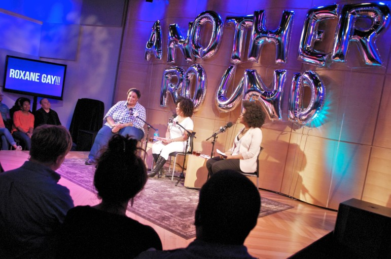 A live taping of BuzzFeed's Another Round podcast wraps up WNYC's Women's Podcasting Festival June 5. (Photo: Stephanie Black)