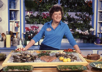 Archival content from WGBH includes footage and still photographs of French Chef Julia Child. (Photo: WGBH)