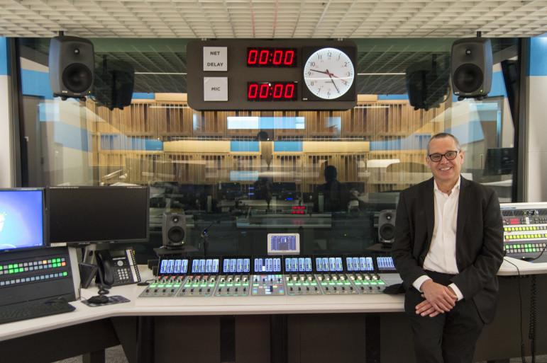 Fox in an NPR studio