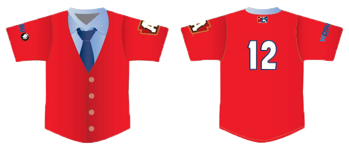 Altoona Curve players will honor MIster Rogers with jerseys inspired by his famous sweater. (Photo: Altoona Curve)