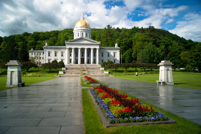 Lawmakers at the Vermont State House in Montpelier saw funding to PBS as expendable (Photo: Jonathanking, via Wikimedia Commons)