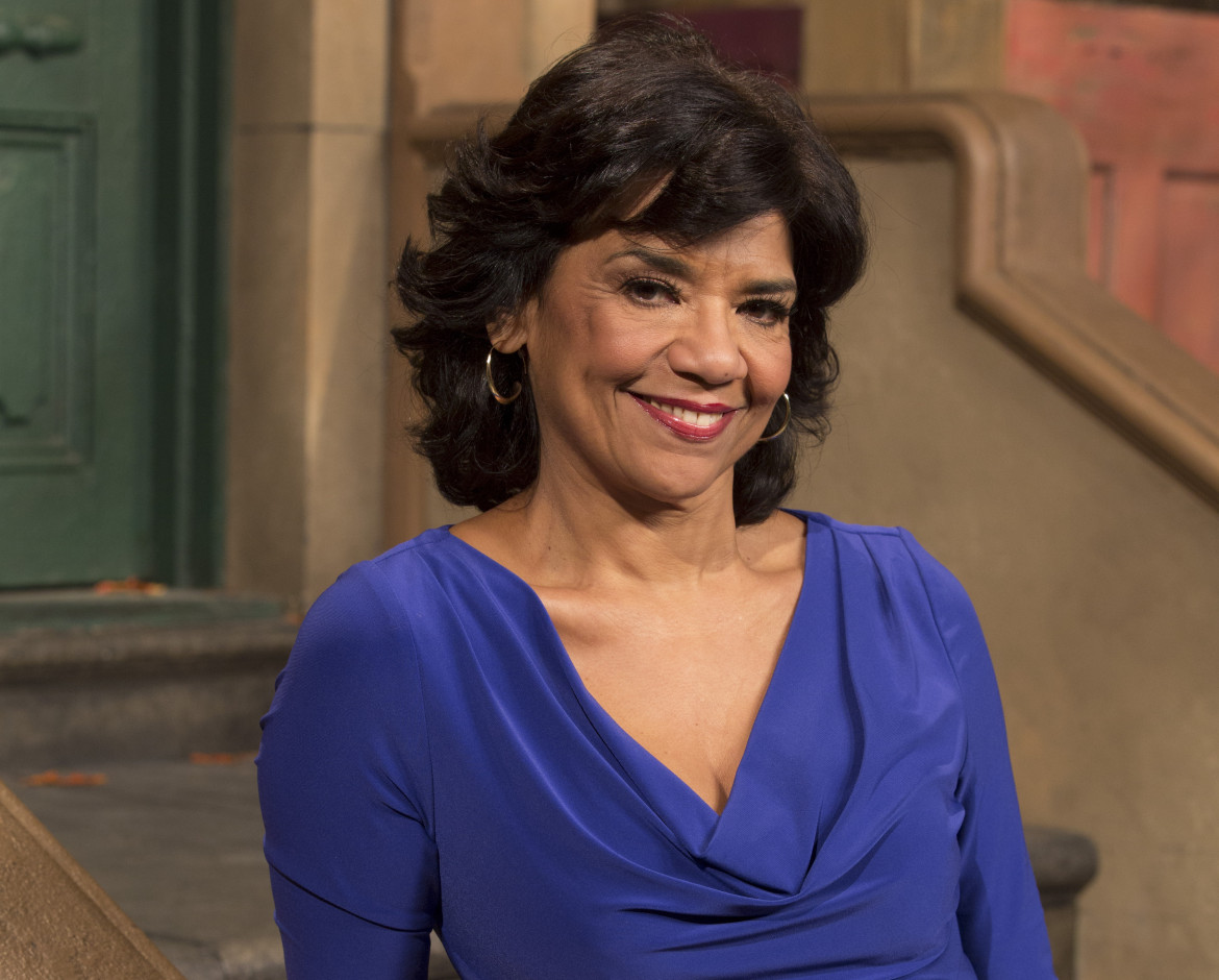 Sonia Manzano played Maria on Sesame Street. (Photo: Richard Termine)