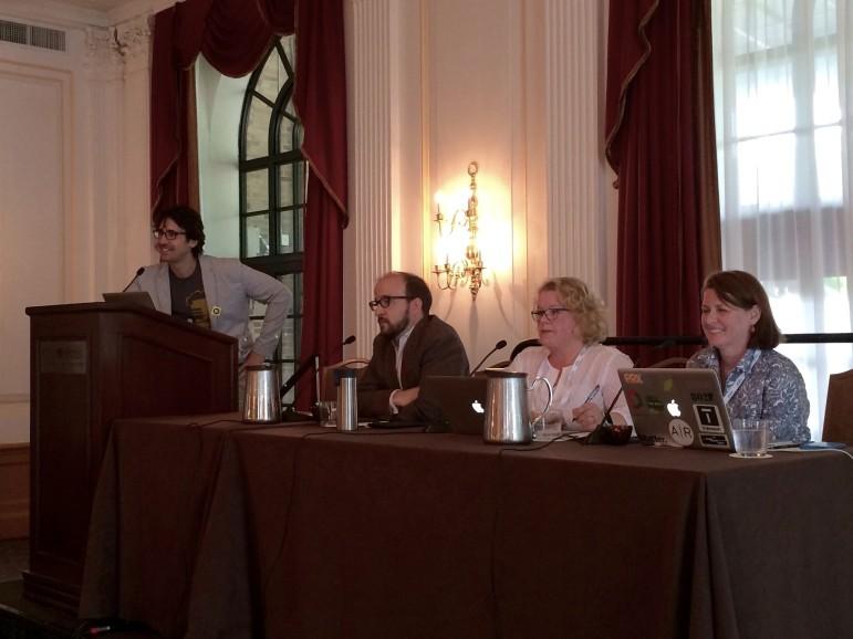 Ragusea, Diehn, Turner,  Hoffman (Photo: Karen Everhart, Current)