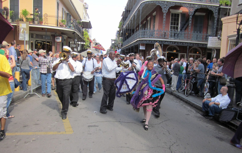 A parade in New Orleans celebrates the 30th anniversary of WWOZ. An anniversary that almost didn't happen because of Hurricane Katrina. (Photo: Infrogmation of New Orleans/Flickr)