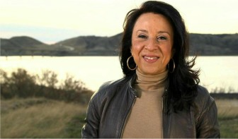 Maria Hinojosa won for her work on America By The Numbers and