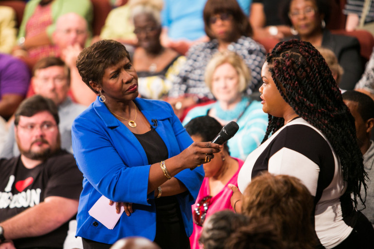 Gwen Ifill of the NewsHour and Washington Week moderated America After Charleston. (Photo: Nine Network/Jason Winkeler Photography)