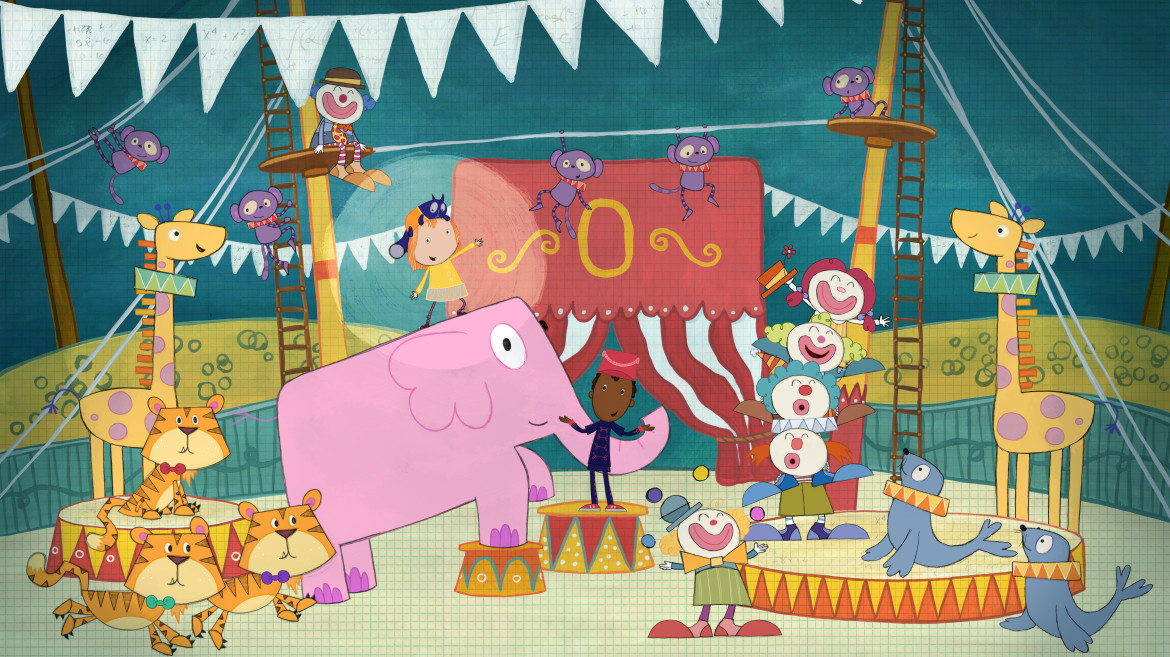 Peg + Cat has won four Emmy Awards since its premiere in 2013. (Image: Fred Rogers Co.)