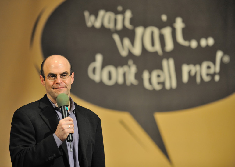 Wait Wait ... Don't Tell Me host Peter Sagal. (Photo: Flickr/JanetandPhil)