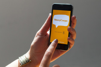 The StoryCorps app. (Photo: StoryCorps)