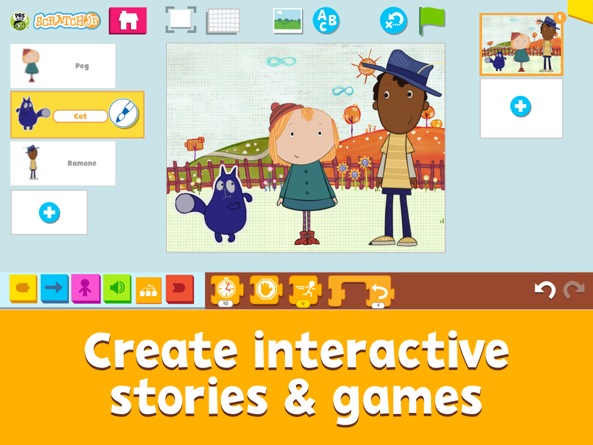 Familiar PBS characters appear in new coding app for kids ...