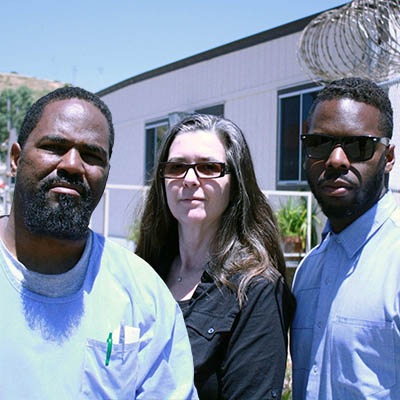 Pictured left to right: Antwan Williams, Nigel Poor and Earlonne Woods. (Ear