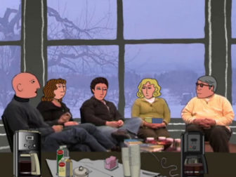 One Alcoholic to Another, a documentary about Alcoholics Anonymous, used animation to conceal the identities of AA members.
