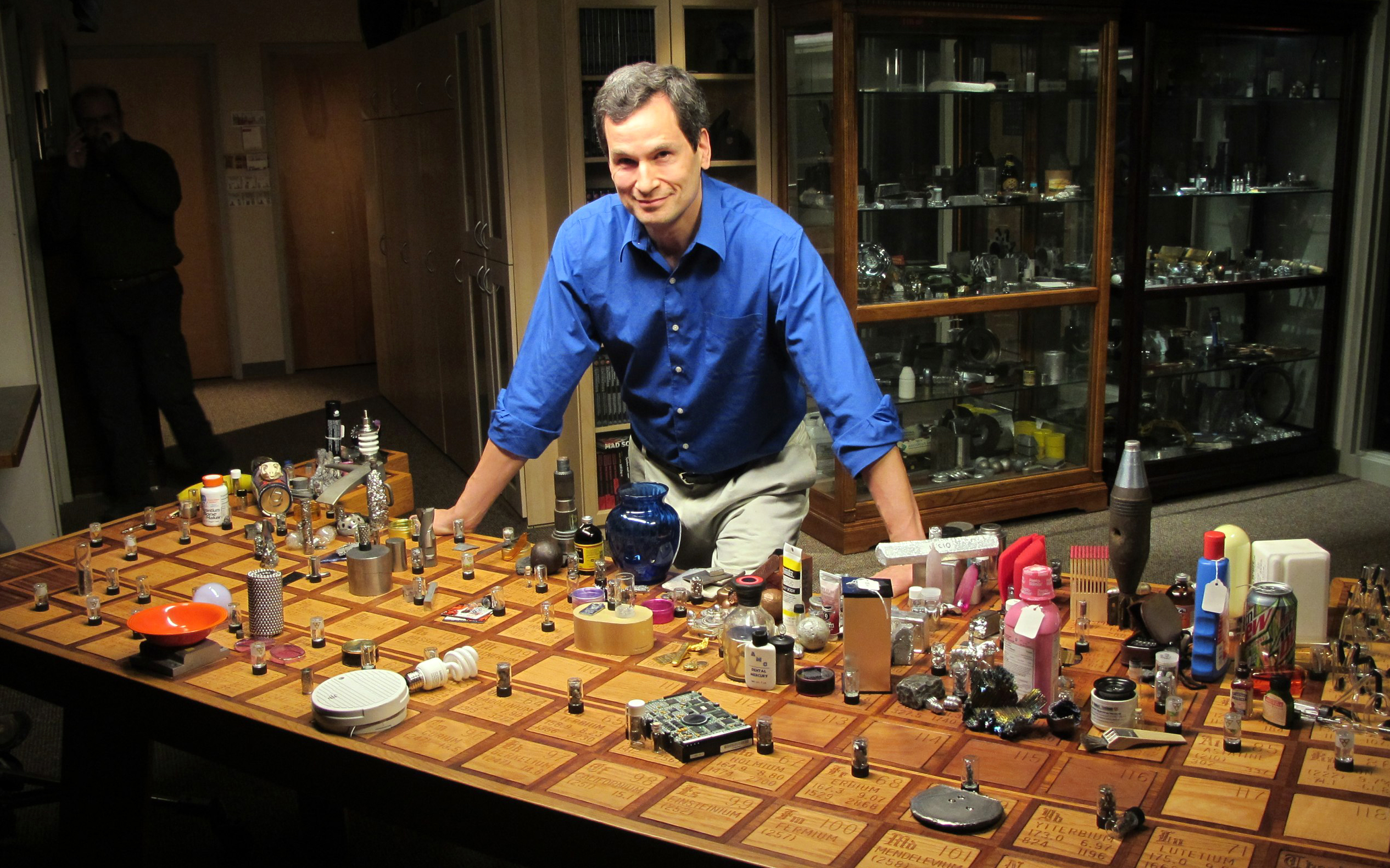"With backing from Kickstarter fans, David Pogue will host Nova's ""Beyond the Elements."" (Photo: WGBH/Nova?"