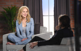 Nicole Kidman talks with Casey Affleck in an episode of Variety Studio: Actors on Actors. (Photo: Buckner/Variety/REX/Shutterstock)