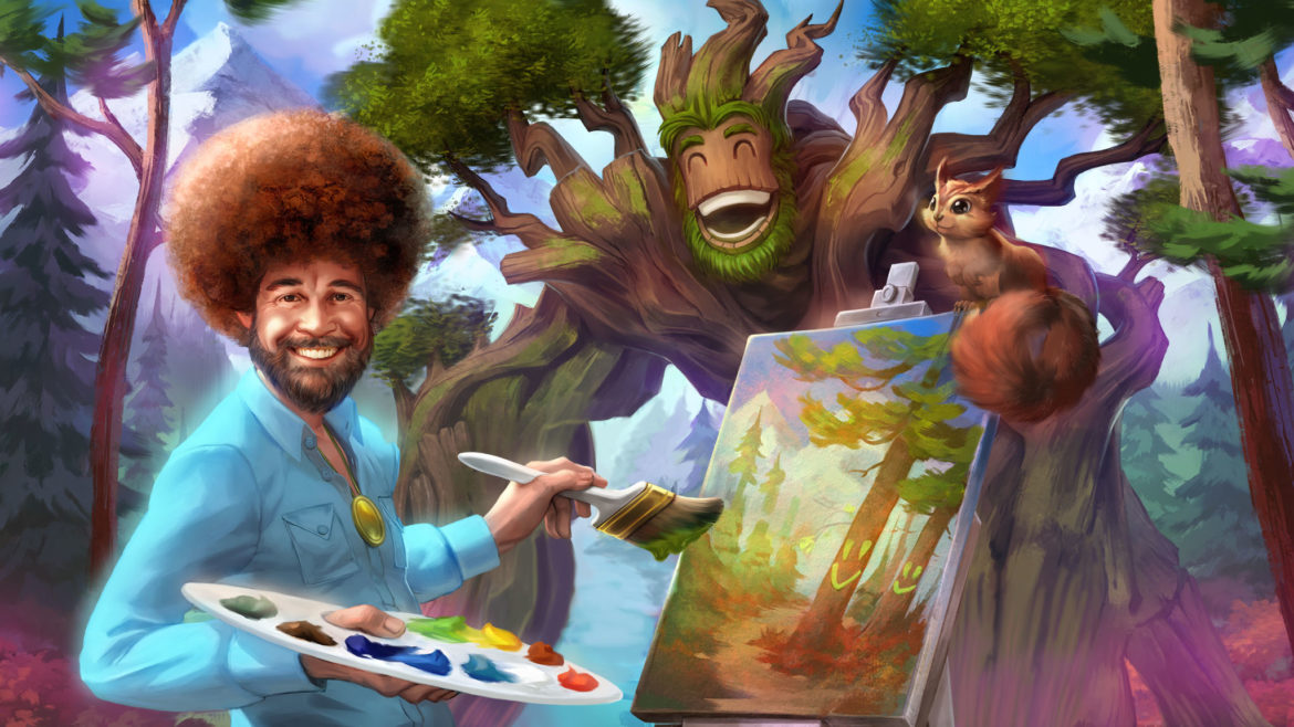 Public TV painter Bob Ross appears in online video game ...