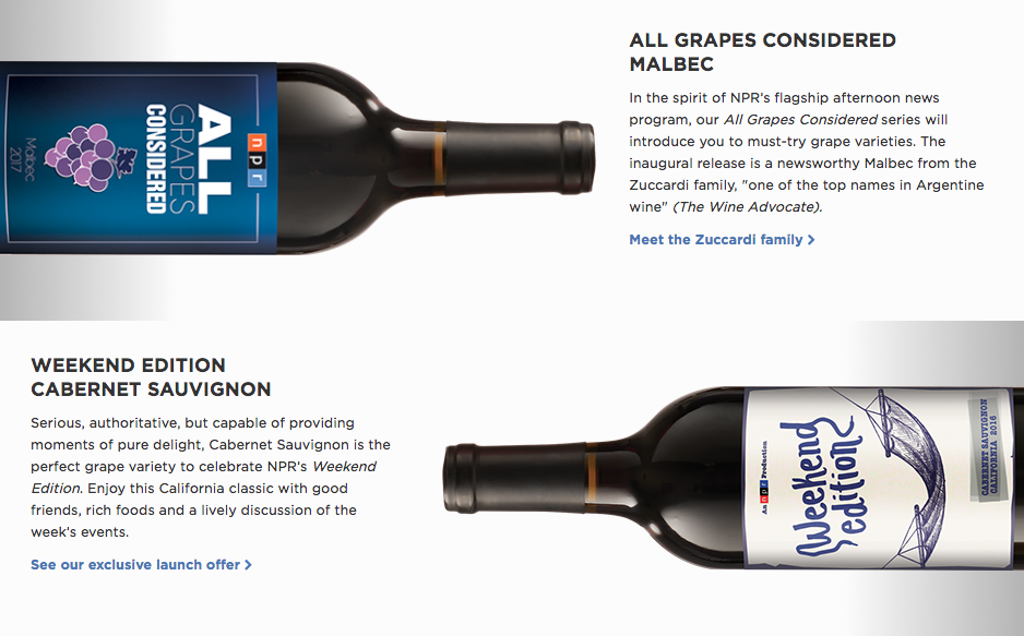 Public Radio (and Wine) Nerds Can Support The Broadcaster By Joining A New  Wine Club With NPR Inspired Offerings.