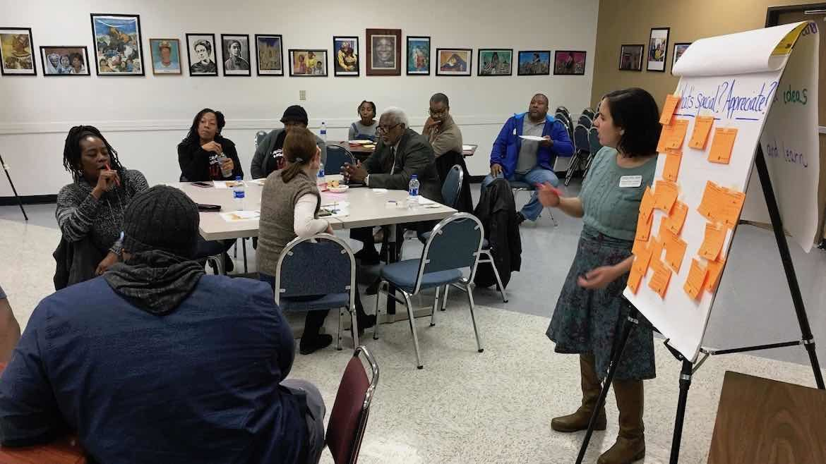 By tapping a community's knowledge, 'Lunch & Listen' events can make