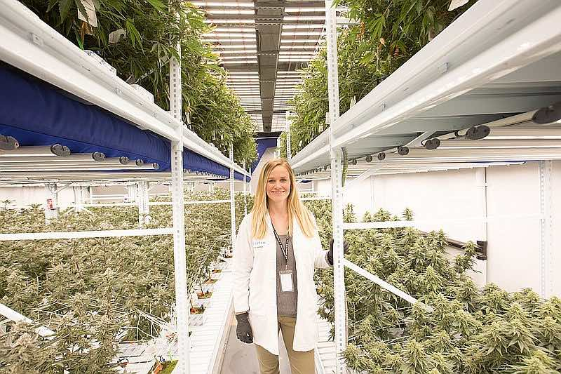 San Diegan Allison Justice is applying her green thumb to a very green enterprise.