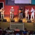 Breaking Grass performs at a Bluegrass Monday concert.