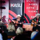 Nancy Apple & Friends at a KASU Coffeehouse Concert.