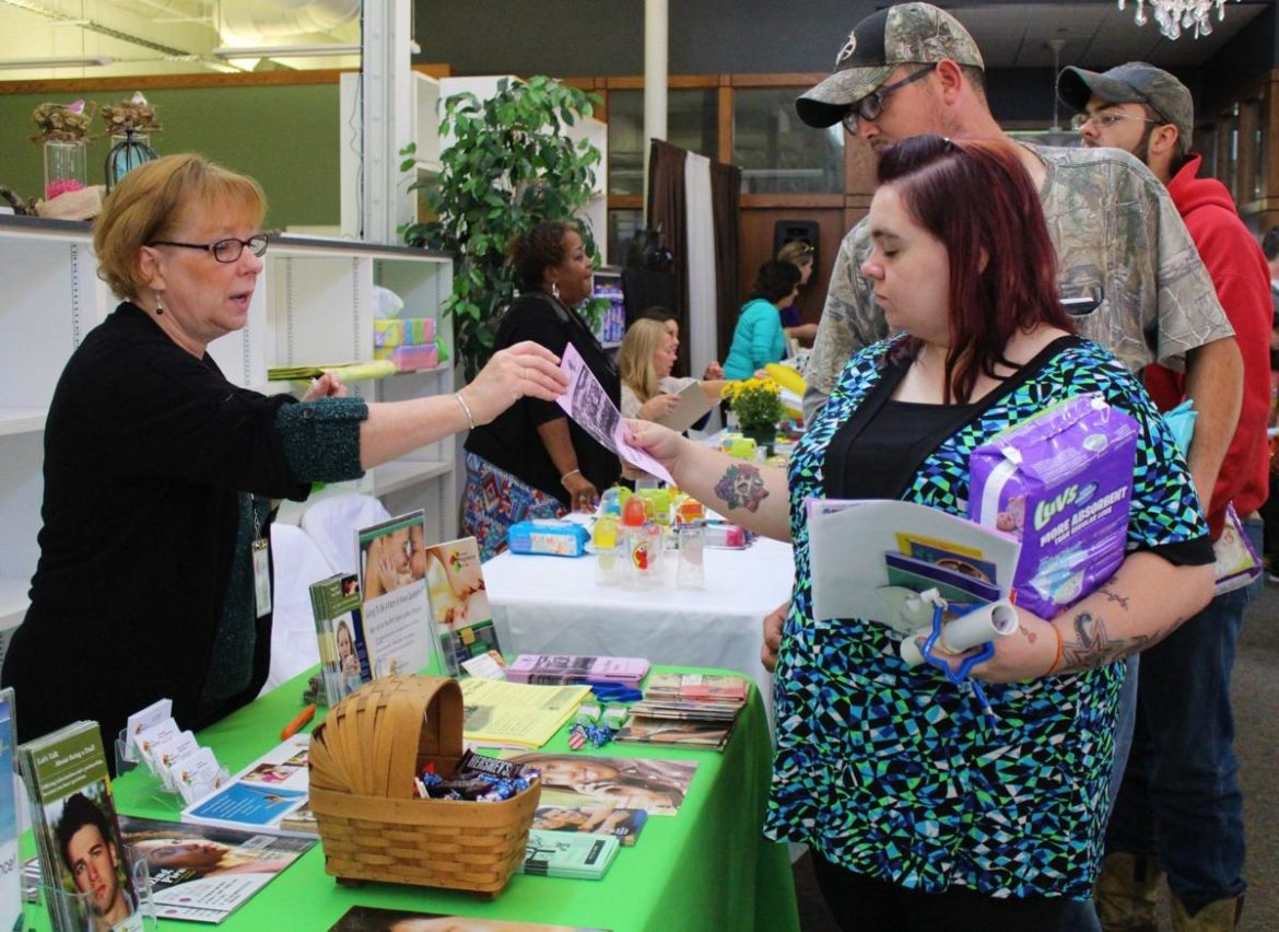 Richland Source's community baby shower gave families an opportunity to get health information from local organizations including Richland Pregnancy Services
