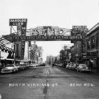 "The Reno Arch was erected in 1926 and remained in place until 1963. KUNR's segment ""Time & Place"" has highlighted various topics about the history of Northern Nevada"
